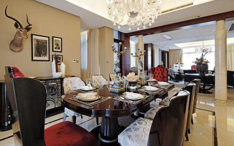 餐厅餐桌欧式风格效果图