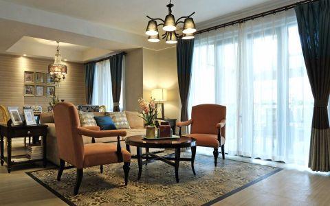 混搭风格140平米四室两厅室内装修效果图