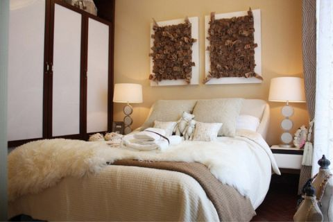 卧室床混搭风格装修效果图