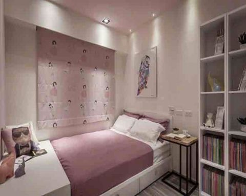 卧室窗台简约风格装饰效果图