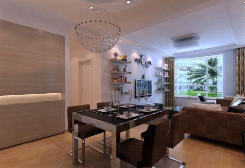 餐厅地板砖现代简约风格装修设计图片