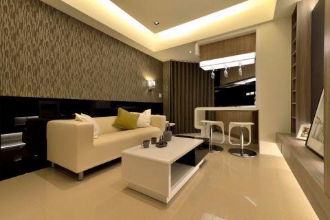 客厅地砖现代风格装修设计图片