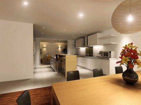 厨房橱柜简约风格效果图