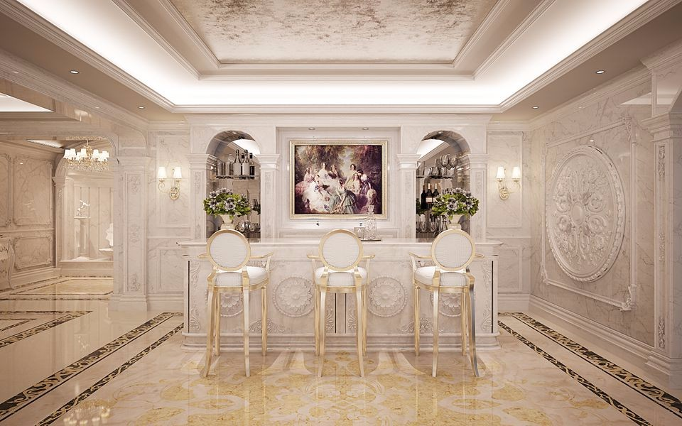 5室2卫2厅304平米欧式风格