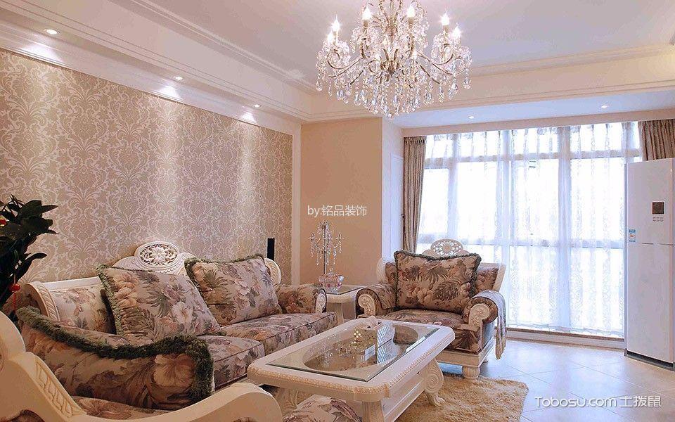 简欧风格120平米楼房室内装修效果图