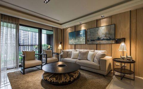现代风格140平米大户型新房装修效果图