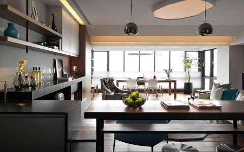现代风格150平米大户型新房装修效果图