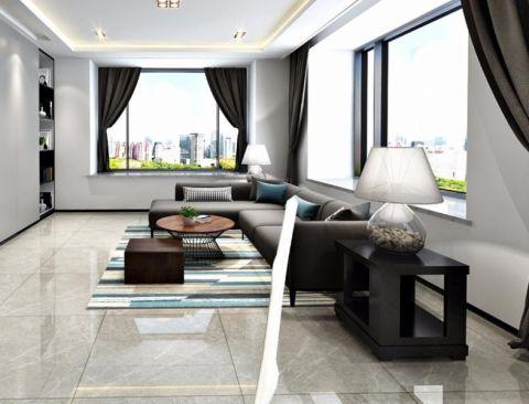 美式风格185平米四室两厅新房装修效果图
