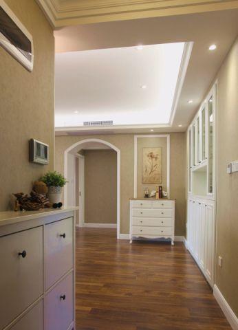 玄关走廊美式风格效果图