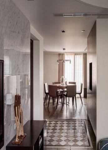玄关走廊现代风格装饰效果图