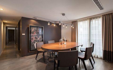 现代风格160平米大户型室内装修效果图
