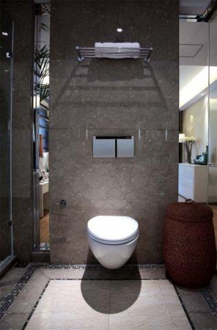 卫生间背景墙简欧风格装修图片