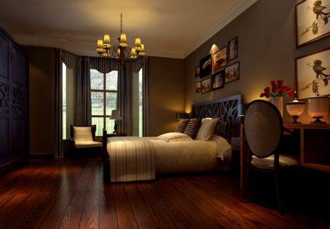 卧室吊顶欧式风格装潢设计图片