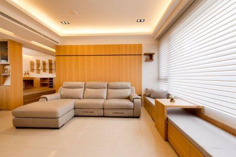 华地公馆120平三居室现代装修效果图