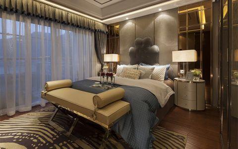 卧室床现代风格装修图片