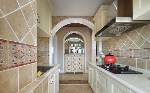 厨房橱柜田园风格装饰图片