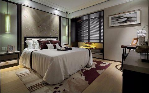 卧室窗台中式风格装修效果图
