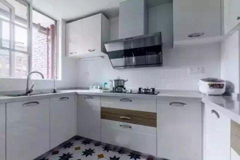 厨房窗台北欧风格装潢效果图