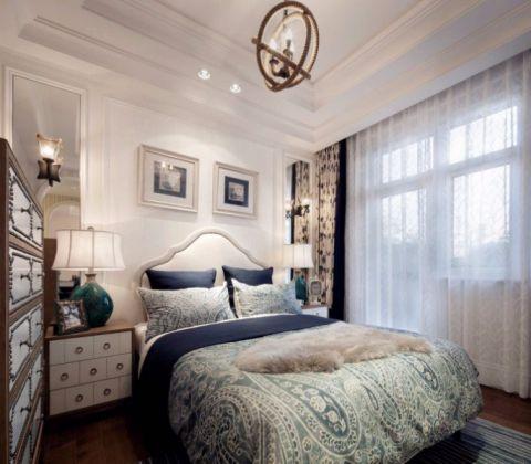 卧室窗帘地中海风格装饰图片