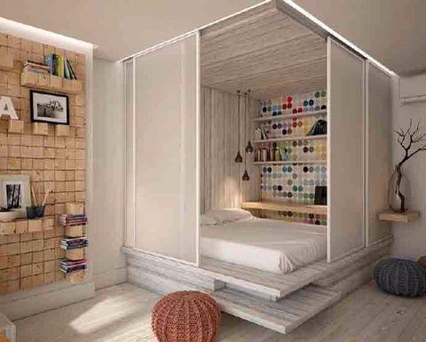 北欧风格60平米公寓新房装修效果图