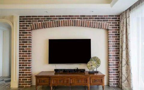 美式风格150平米大户型室内装修效果图