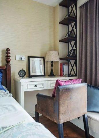卧室书桌美式风格装修效果图