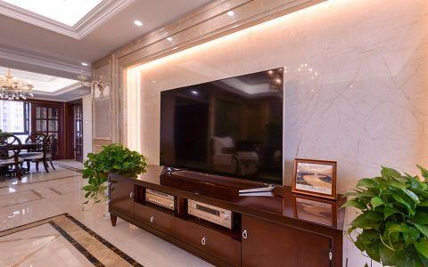 客厅背景墙新古典风格装修效果图