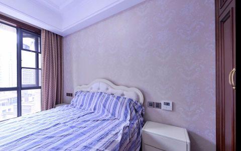 卧室背景墙新古典风格装潢效果图