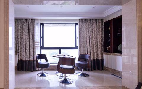 阳台窗帘新古典风格装潢图片