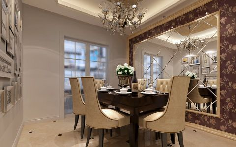 餐厅餐桌欧式风格装修效果图