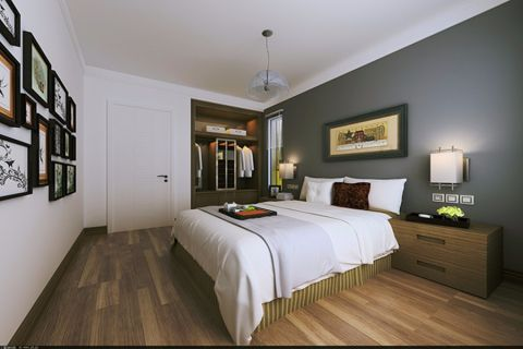 和泓四季恋城120平现代风格三居室装修效果图