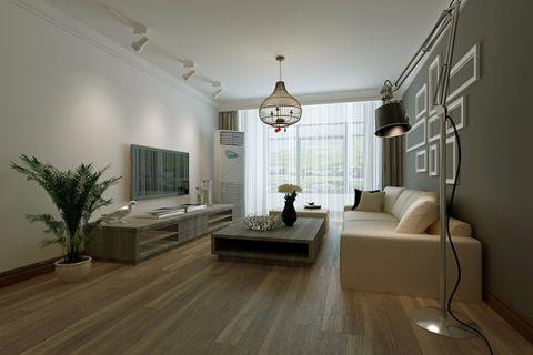 客厅背景墙现代风格装饰设计图片