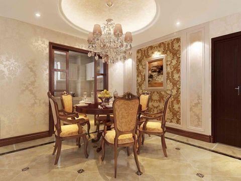 餐厅吊顶欧式风格装饰图片
