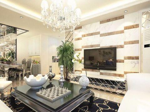 新古典风格180平米别墅新房装修效果图