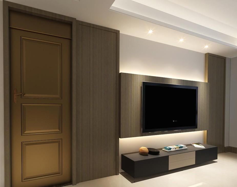 4室2卫2厅126平米现代风格
