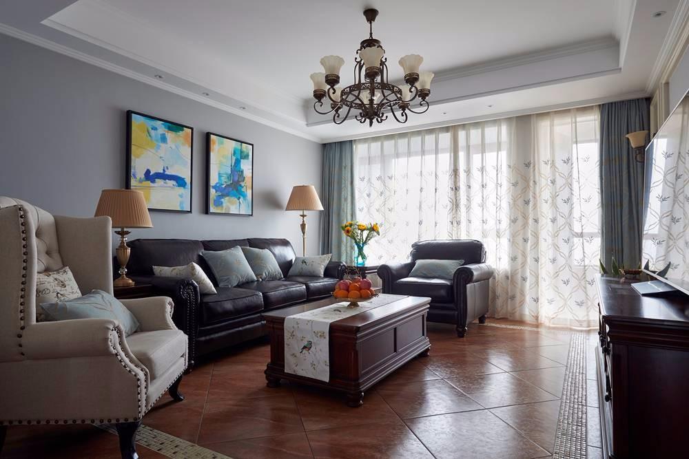 3室1卫2厅170平米美式风格