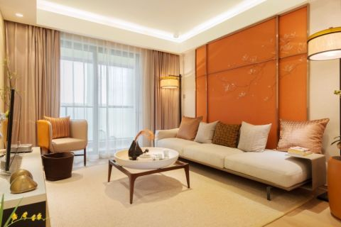 广厦天都城110平米现代风格三居室装修效果图