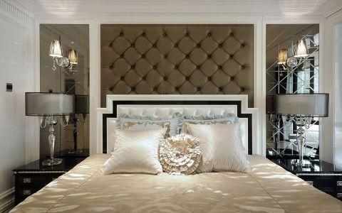 卧室床简欧风格装饰效果图