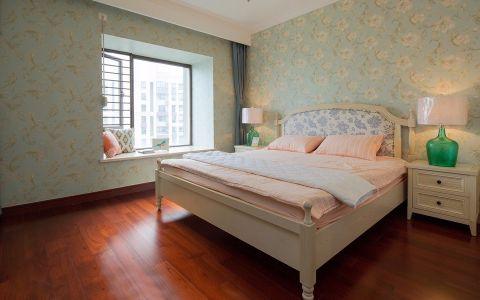 卧室飘窗混搭风格装饰设计图片