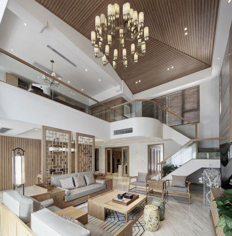 简中风格350平米别墅室内装修效果图
