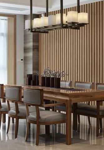 餐厅餐桌简中风格装潢设计图片