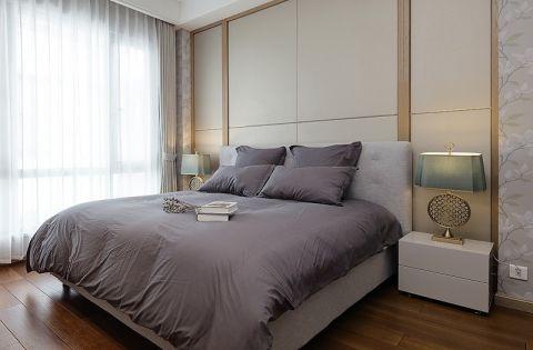 卧室窗帘简中风格装饰效果图