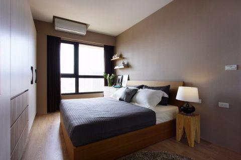 卧室窗帘简约风格装修设计图片