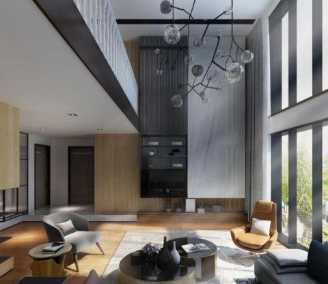 简约风格250平米别墅室内装修效果图