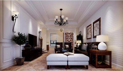 美式风格200平米别墅新房装修效果图