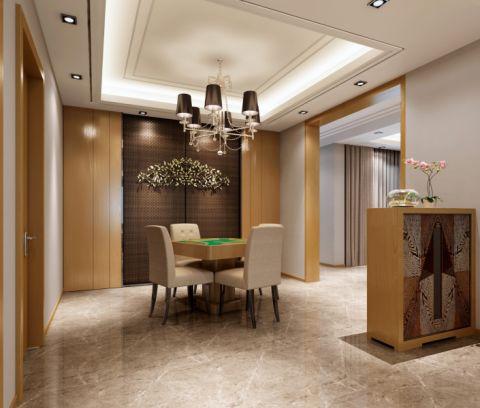 餐厅吊顶新中式风格装潢图片