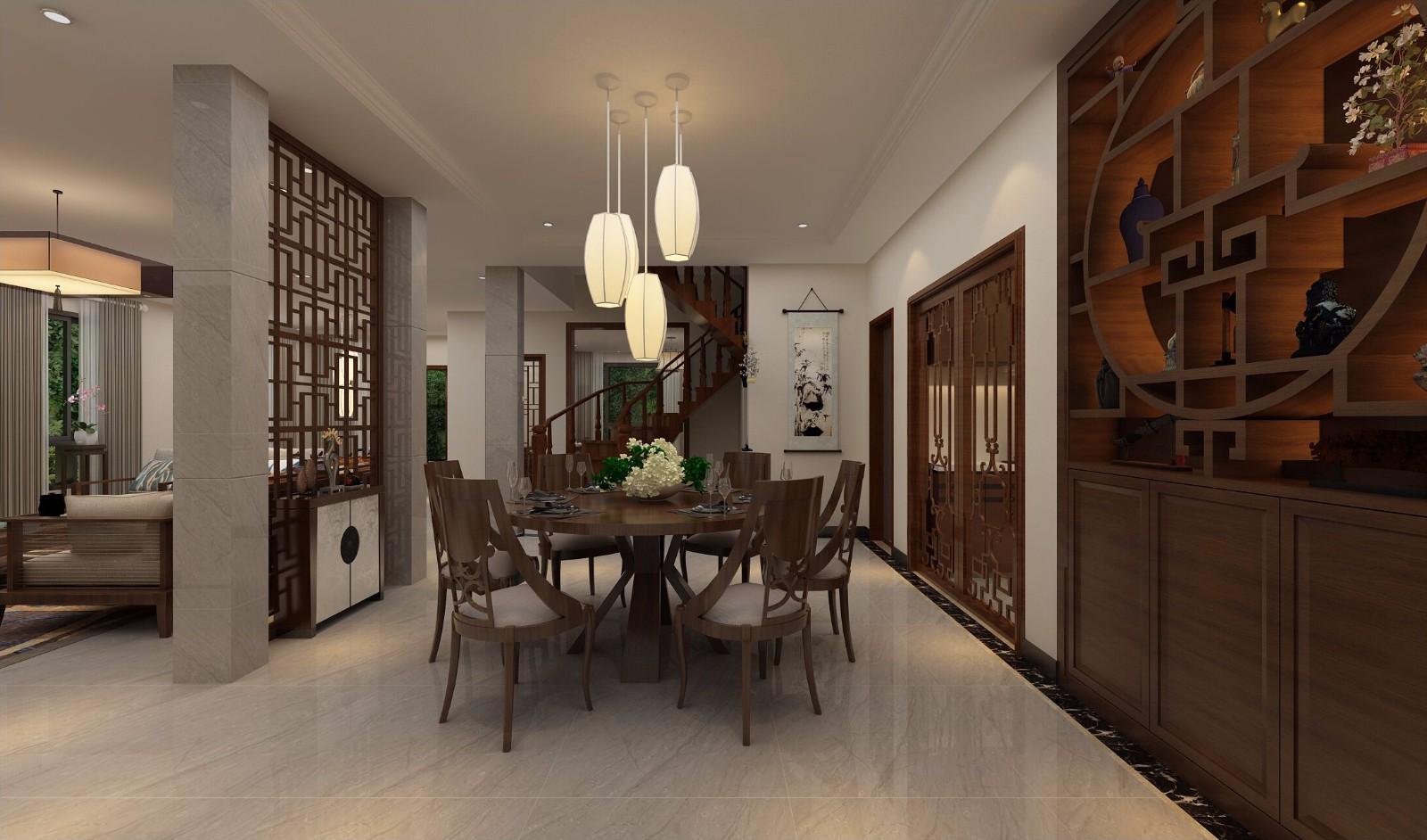 5室4卫3厅330平米新中式风格