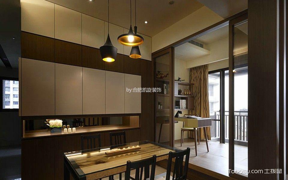 餐厅黄色吊顶韩式风格装潢图片