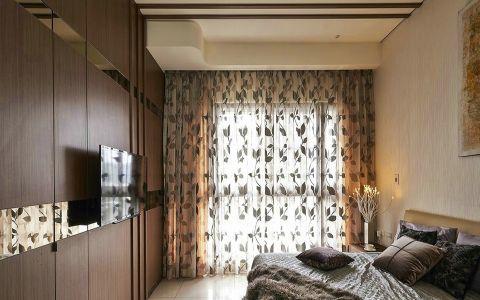 卧室窗帘韩式风格装潢设计图片