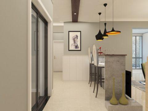 客厅吧台北欧风格装饰设计图片